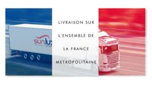 Livraison des stores sur mesure Sun & Lux