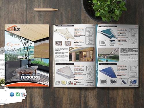 Store Terrasse, Brochure Stores bannes