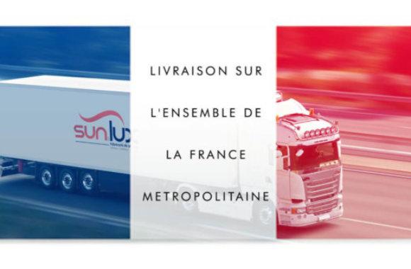 Livraison en France des Stores Sun & Lux